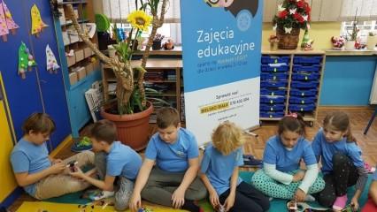 Obrazek galerii Zajęcia edukacyjne z klockami LEGO w klasie 3a