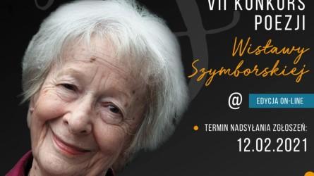 """Obrazek aktualności VII Konkurs Poezji Wisławy Szymborskiej """"Niektórzy lubią poezję"""" - edycja on-line"""