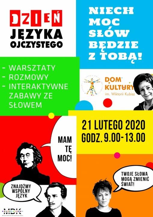 Niech Moc Słów Będzie Z Tobą! - Dzień Języka Ojczystego w Kubiszówce