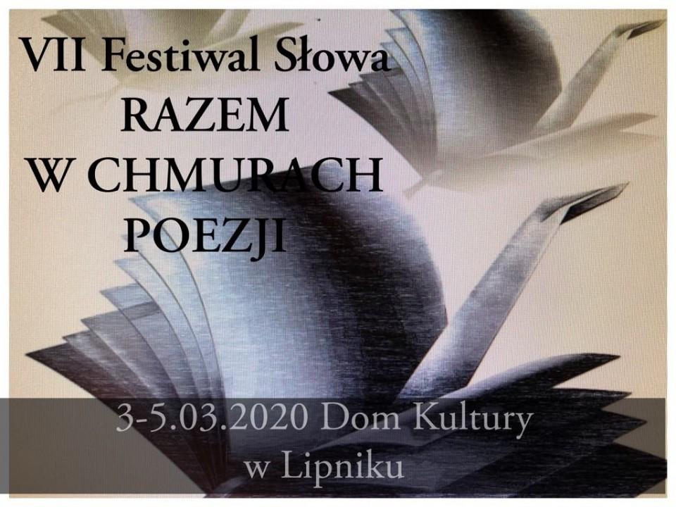 """VII Festiwal Słowa """"Razem w chmurach poezji"""""""