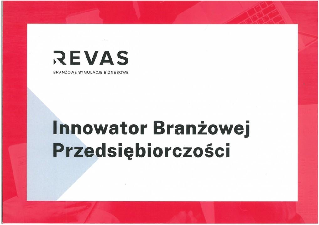 ZSSiO z tytułem Innowatora Branżowej Przedsiębiorczości