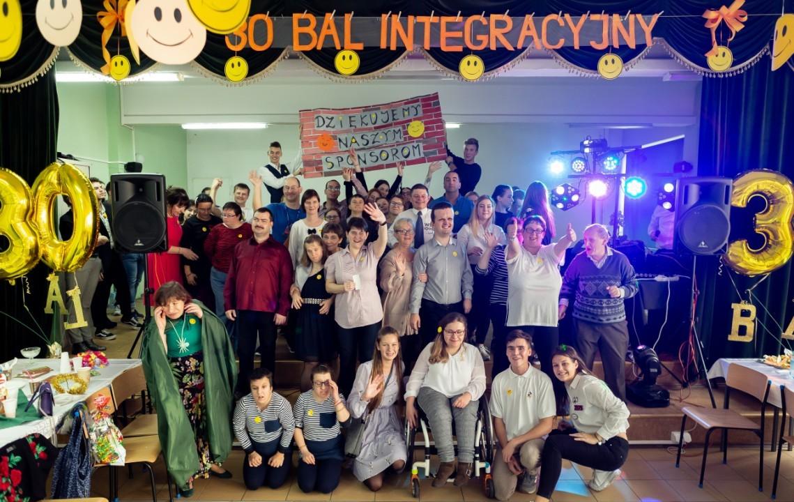 Bal Integracyjny w Zespole Szkół Budowlanych