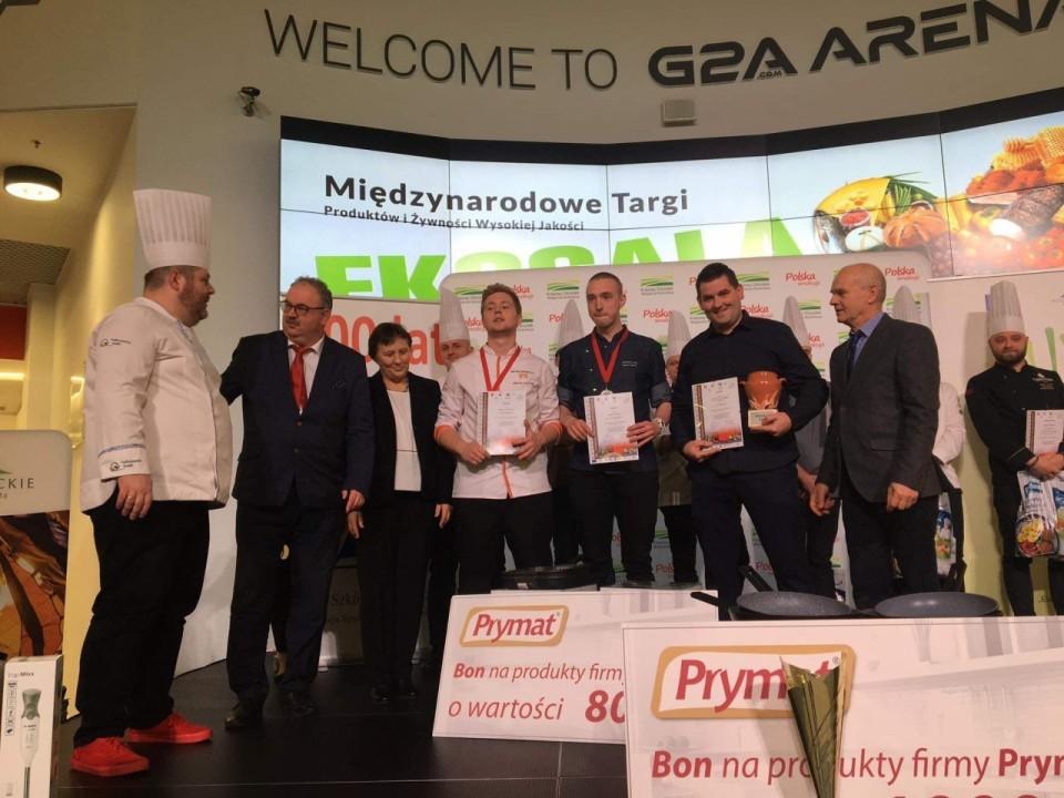 Gastronom na podium w Europejskim Konkursie Kulinarnym Ekogala 2019